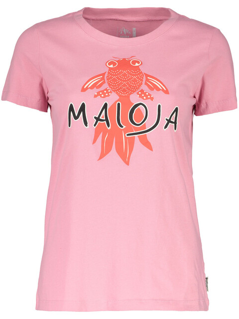 Maloja PuorgiaM. t-shirt Dames roze